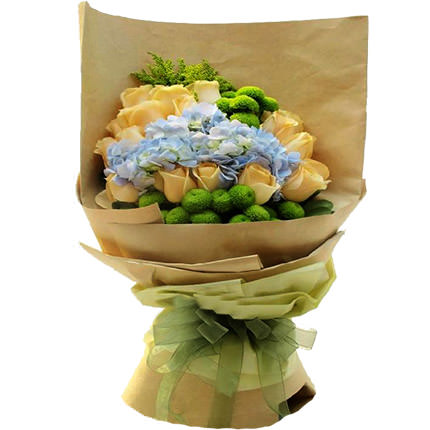 "Romantic bouquet ""Warm meeting"" - delivery in Ukraine"
