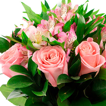 "Bouquet in the cone-package ""Romantic Provence"" - order with delivery"