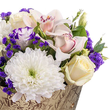 "Bouquet in the cone-package ""Tenderness"" - delivery in Ukraine"