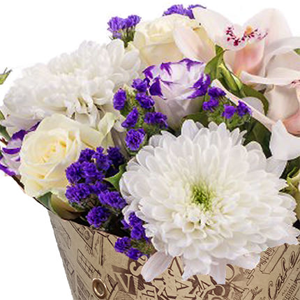 "Bouquet in the cone-package ""Tenderness"" - order with delivery"