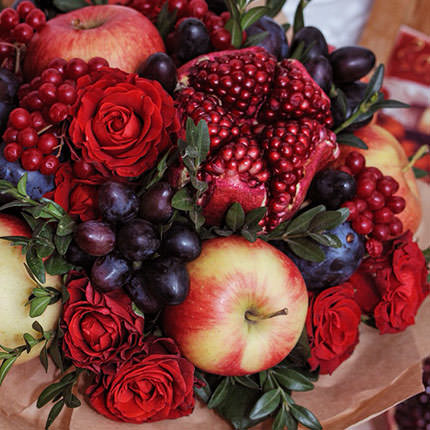 "Fruit bouquet ""Autumn Gifts"" - delivery in Ukraine"