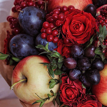 "Fruit bouquet ""Autumn Gifts"" - order with delivery"