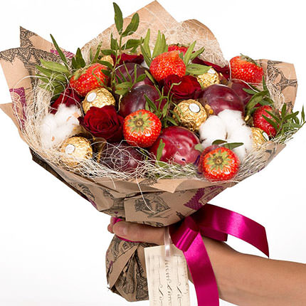 "Fruit bouquet ""Temptation"" - delivery in Ukraine"