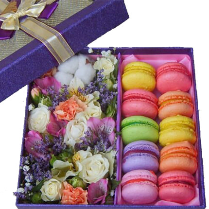 """Composition in a box """"Romantic evening"""" - order with delivery"""