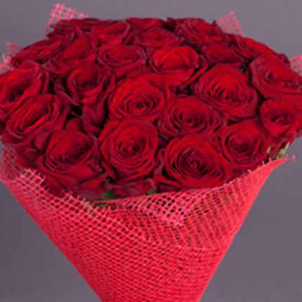 Букет з 21 троянди - доставка по Україні