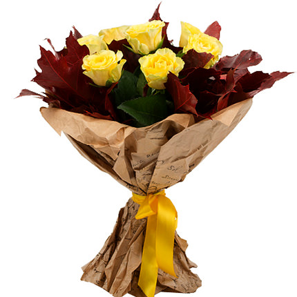 "Bouquet ""Crimson Sunset"" - delivery in Ukraine"