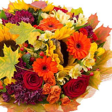 "Autumn bouquet ""Autumn rendezvous"" - delivery in Ukraine"