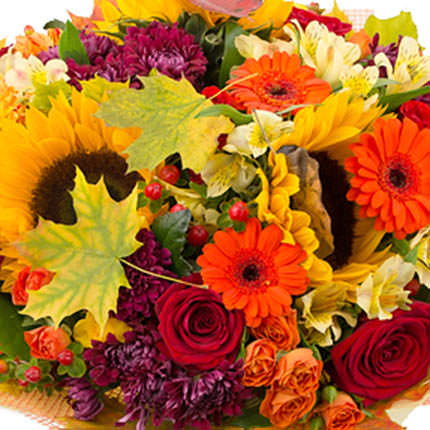"""Autumn bouquet """"Autumn rendezvous"""" - order with delivery"""