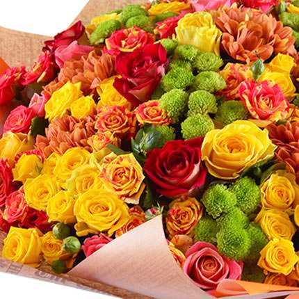 "Bright bouquet ""Sweet caramel"" - order with delivery"