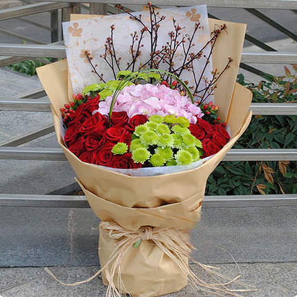 "Bouquet ""Serenade"" - delivery in Ukraine"
