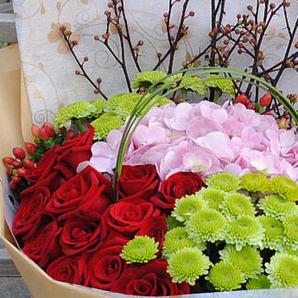 "Bouquet ""Serenade"" - order with delivery"