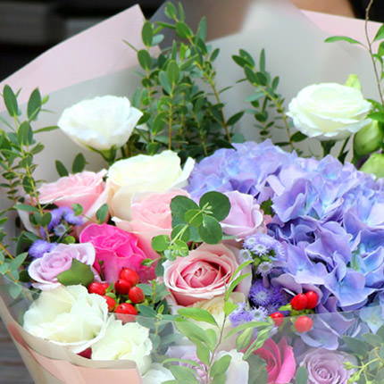 "Bouquet ""Happy smile"" - order with delivery"