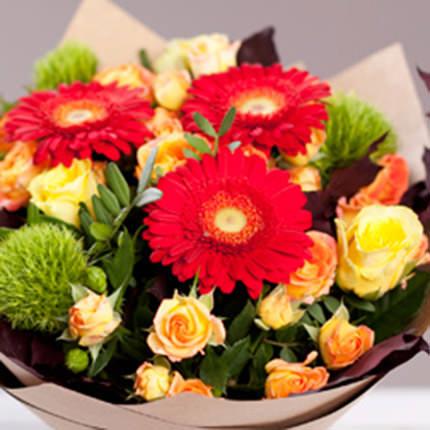 """Autumn bouquet """"Bright person"""" - delivery in Ukraine"""