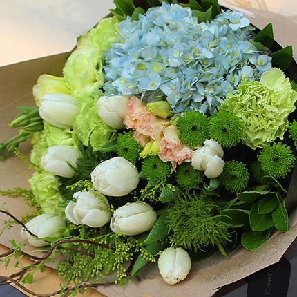 "Delicate bouquet ""Inspiration"" - order with delivery"