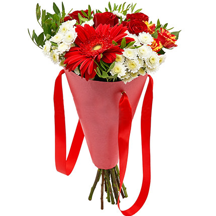 """Bouquet in the cone-package """"Holiday"""" - delivery in Ukraine"""