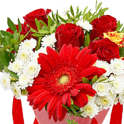 """Bouquet in the cone-package """"Holiday"""" - order with delivery"""