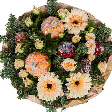 """Bouquet """"Surprise for the New Year"""" - order with delivery"""