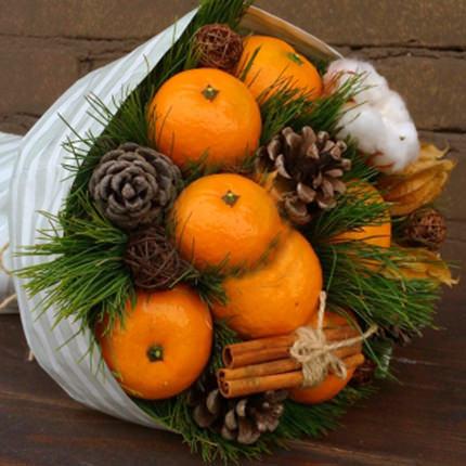 "Bouquet ""Fragrant tangerines"" - delivery in Ukraine"