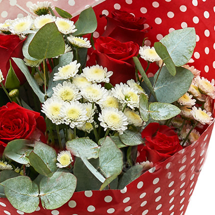 """Bouquet for the beloved """"Day of love"""" - delivery in Ukraine"""