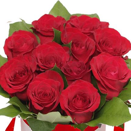 """Квіти в коробці """"Вітання"""" - замовити з доставкою"""