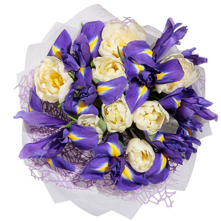 "Gentle bouquet ""Spring freshness"" - order with delivery"