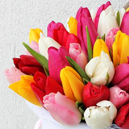 """Квіти в коробці """"Жіночий День!"""" - замовити з доставкою"""