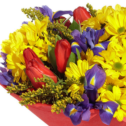 "Bouquet ""Congratulation from the heart!"" - order with delivery"