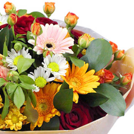 "Bright bouquet ""To My Mommy!"" - delivery in Ukraine"