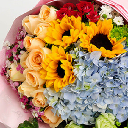 "Bouquet ""Summer mix"" - delivery in Ukraine"