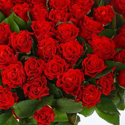 """Букет """"51 красная роза Эль Торо"""" - доставка по Украине"""