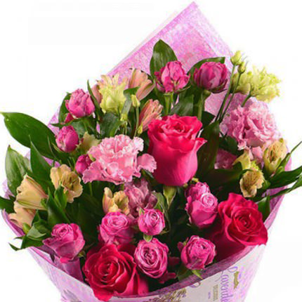 "Bright bouquet ""Romantic mood"" - order with delivery"