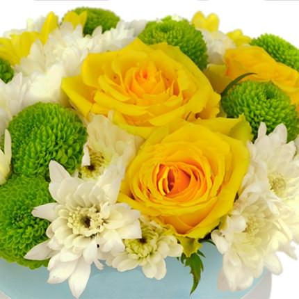 "Flowers in box ""Summer sun"" - delivery in Ukraine"