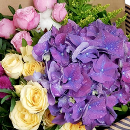"Stylish bouquet ""Cleopatra"" - order with delivery"