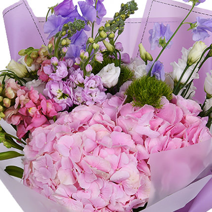 "Summer bouquet ""Romance"" - order with delivery"