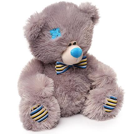 Ведмедик сірий  (в латках) - доставка по Україні