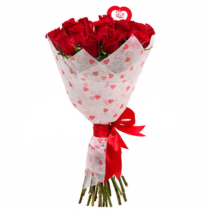 Bouquet from St. Valentine! - delivery in Ukraine