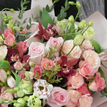 "Delicate bouquet ""Harmony of feelings"" - delivery in Ukraine"