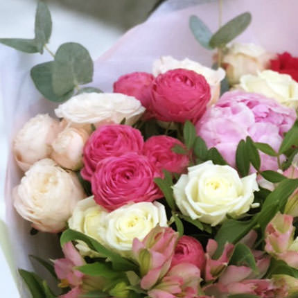 "Bouquet ""Kaleidoscope of happiness"" - order with delivery"