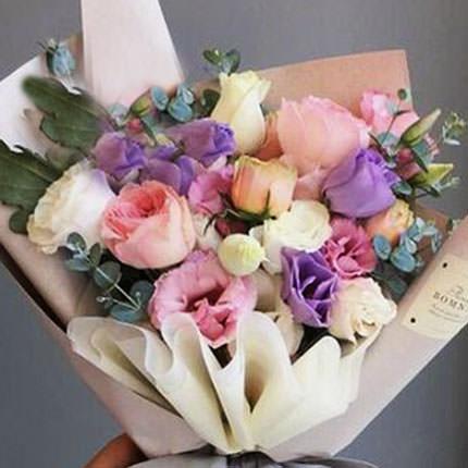 "Bouquet ""Flowers' Selfi"" - delivery in Ukraine"