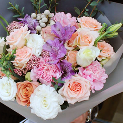 "Delicate bouquet ""My Princess"" - delivery in Ukraine"