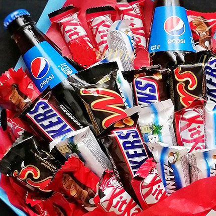"Bouquet of sweets ""Energy Charge!"" - order with delivery"