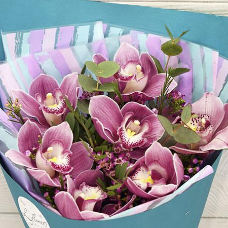 "Bouquet ""Pink Flamingo"" - delivery in Ukraine"