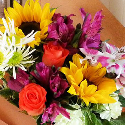 """Bouquet """"July sun"""" - order with delivery"""