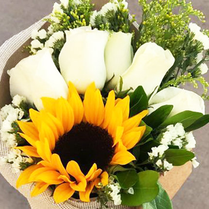 "Summer bouquet ""Joy"" - order with delivery"