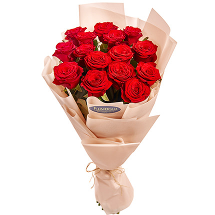 "Bouquet ""15 red roses"" - order with delivery"