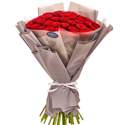"""Bouquet """"51 red roses"""" - order with delivery"""