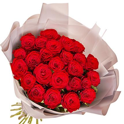 """Букет """"25 червоних троянд"""" - доставка по Україні"""