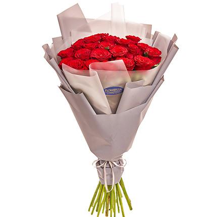 """Букет """"25 червоних троянд"""" - замовити з доставкою"""