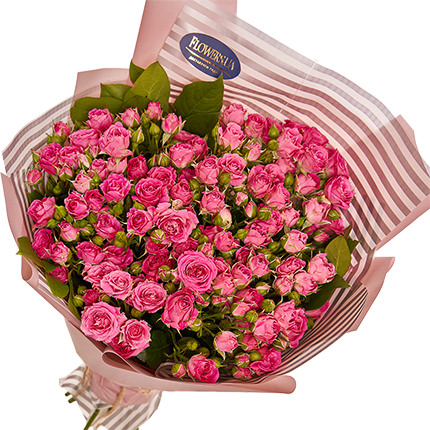 "Bouquet of roses ""To my cutie!"" - delivery in Ukraine"