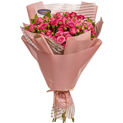 "Bouquet of roses ""To my cutie!"" - order with delivery"